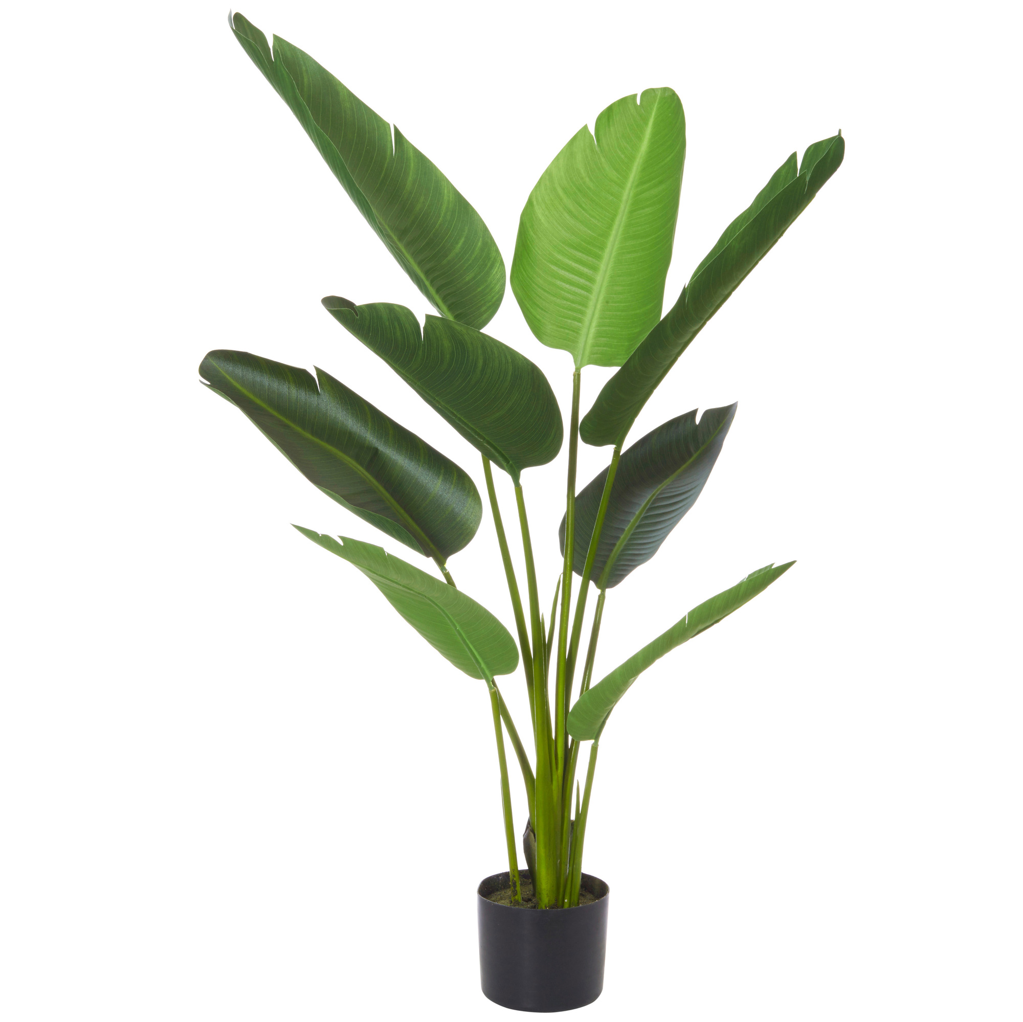 Artificial Potted Water Bamboo Grass Plant Tree Display Ornament Faux 122cm