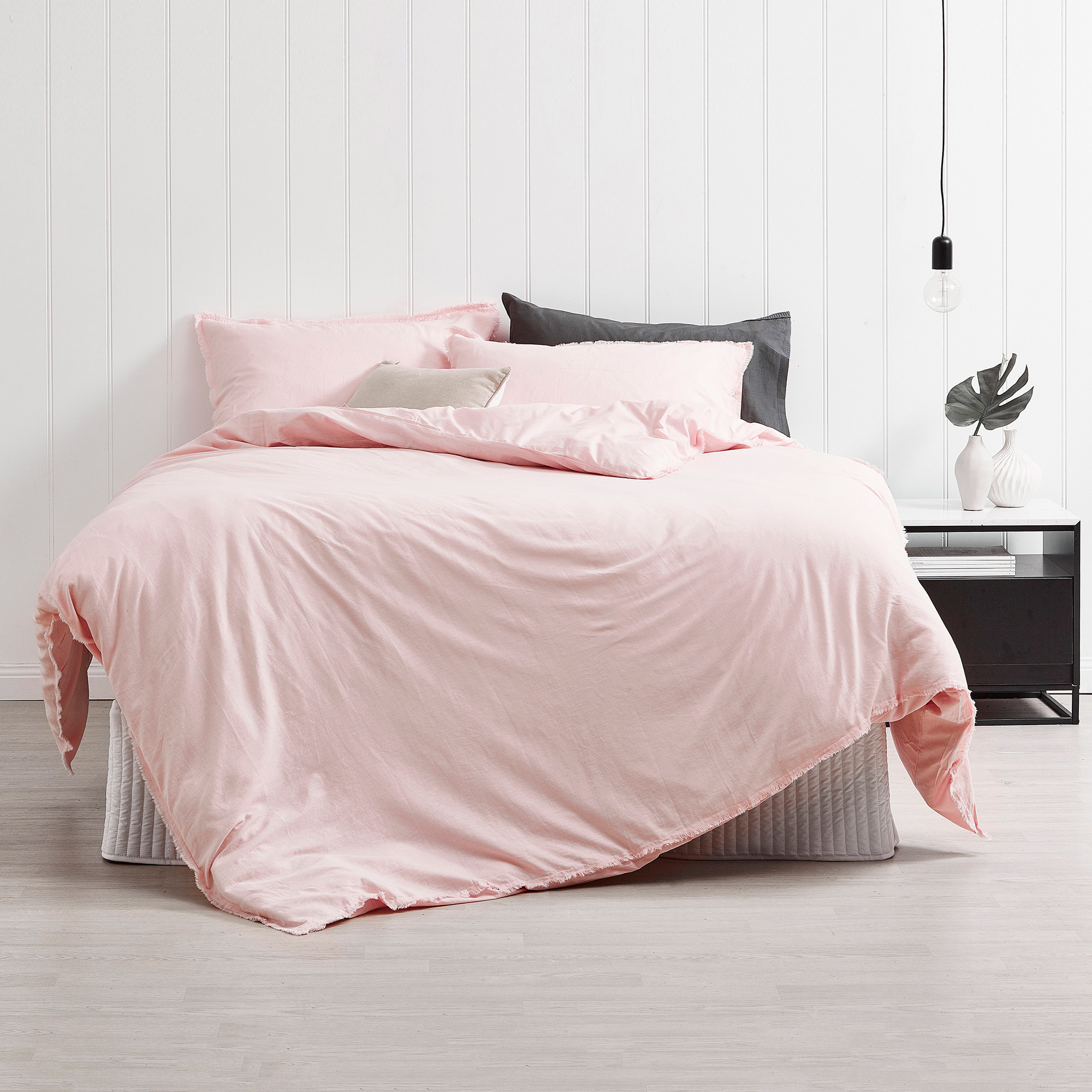 today bedding flannel free miller cover shipping blush product madison cotton bath overstock park duvet set printed