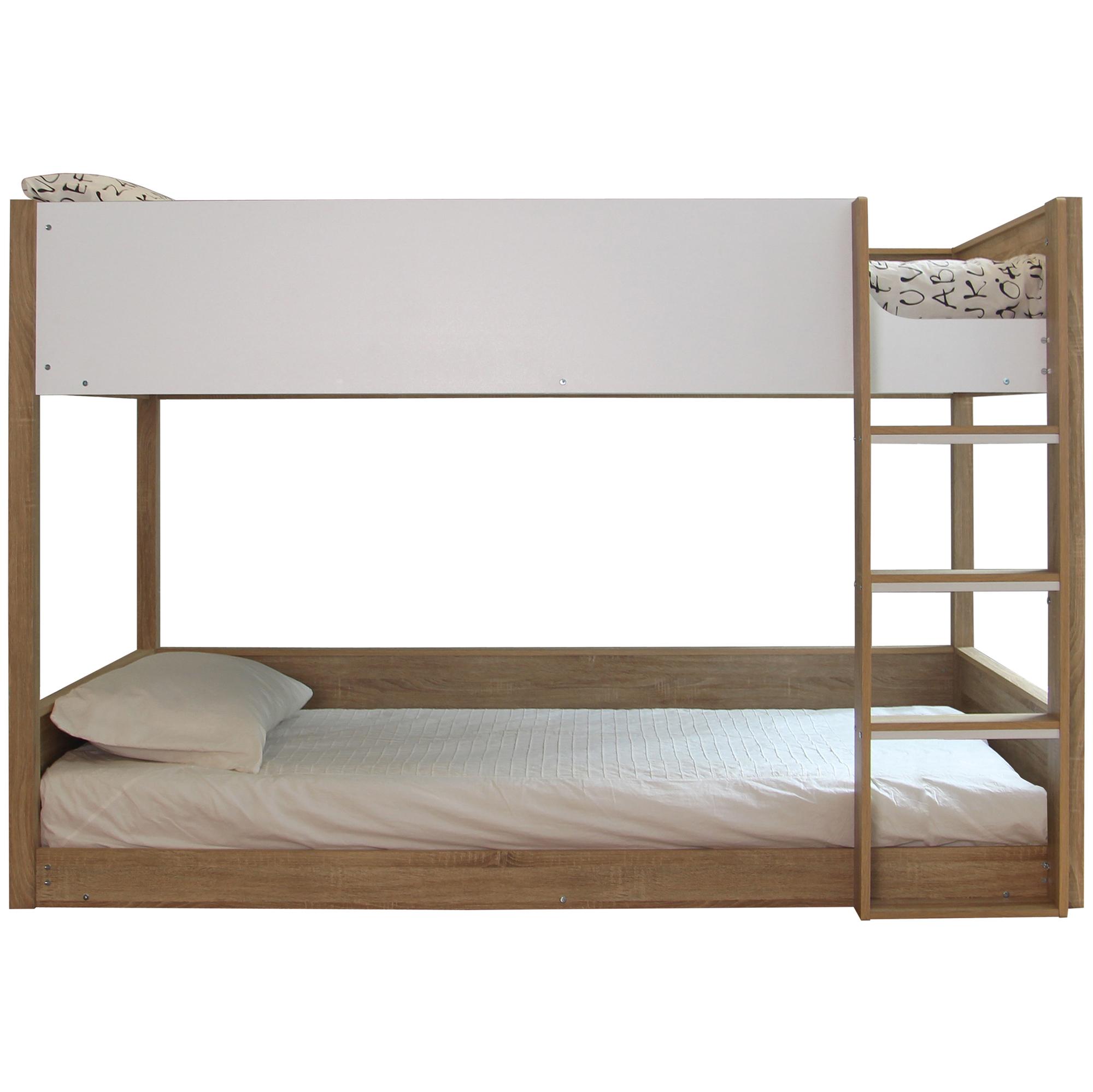 uk availability 9ce2a 8437f Sonoma Oak Gisborne King Single Bunk Bed