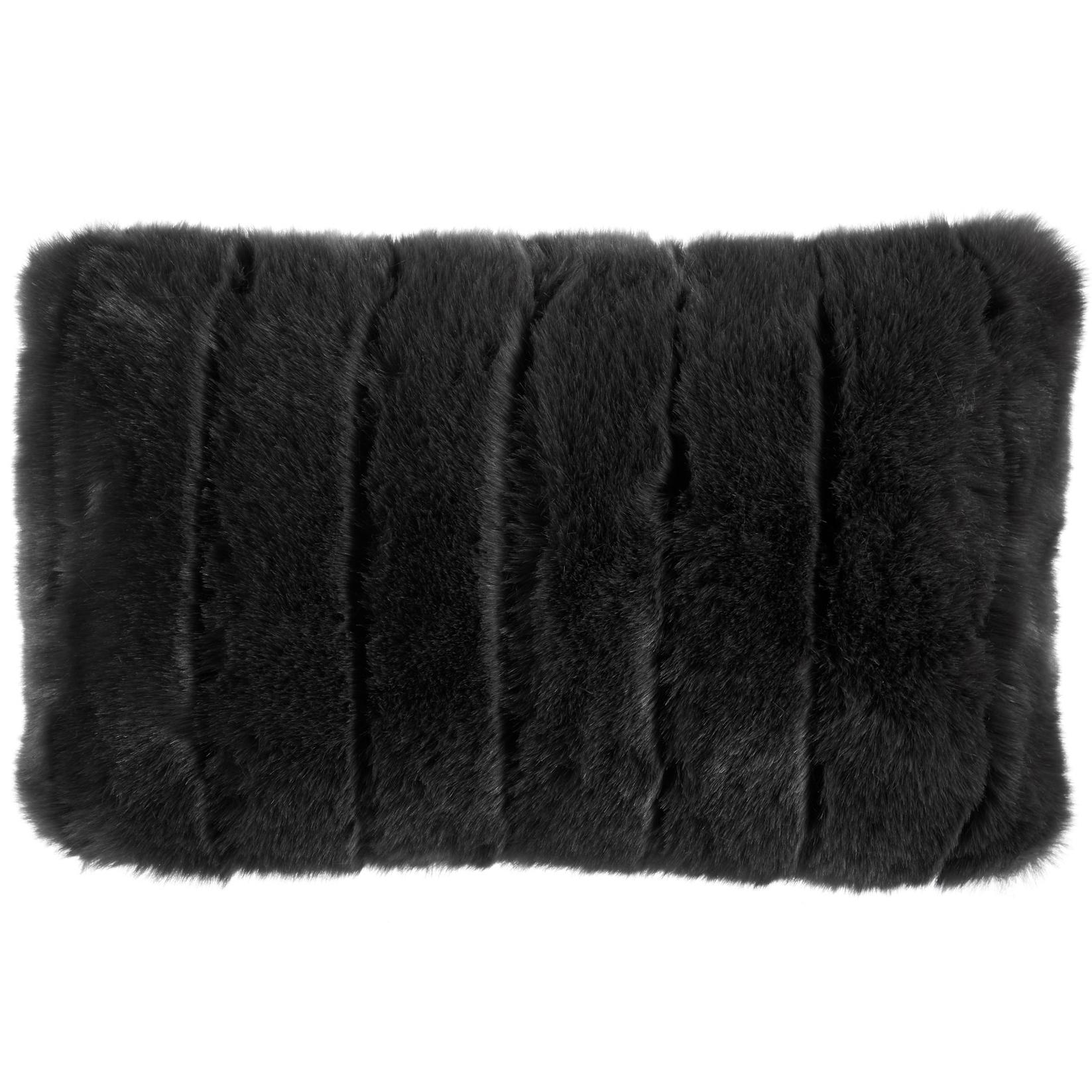 new elsworthy faux fur cushion bedding house cushions ebay. Black Bedroom Furniture Sets. Home Design Ideas