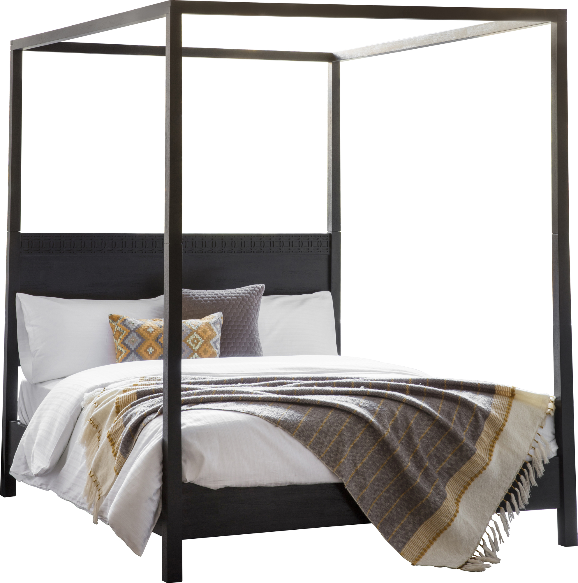 Bella Casa Barlis 4 Poster Bed Reviews Temple Webster