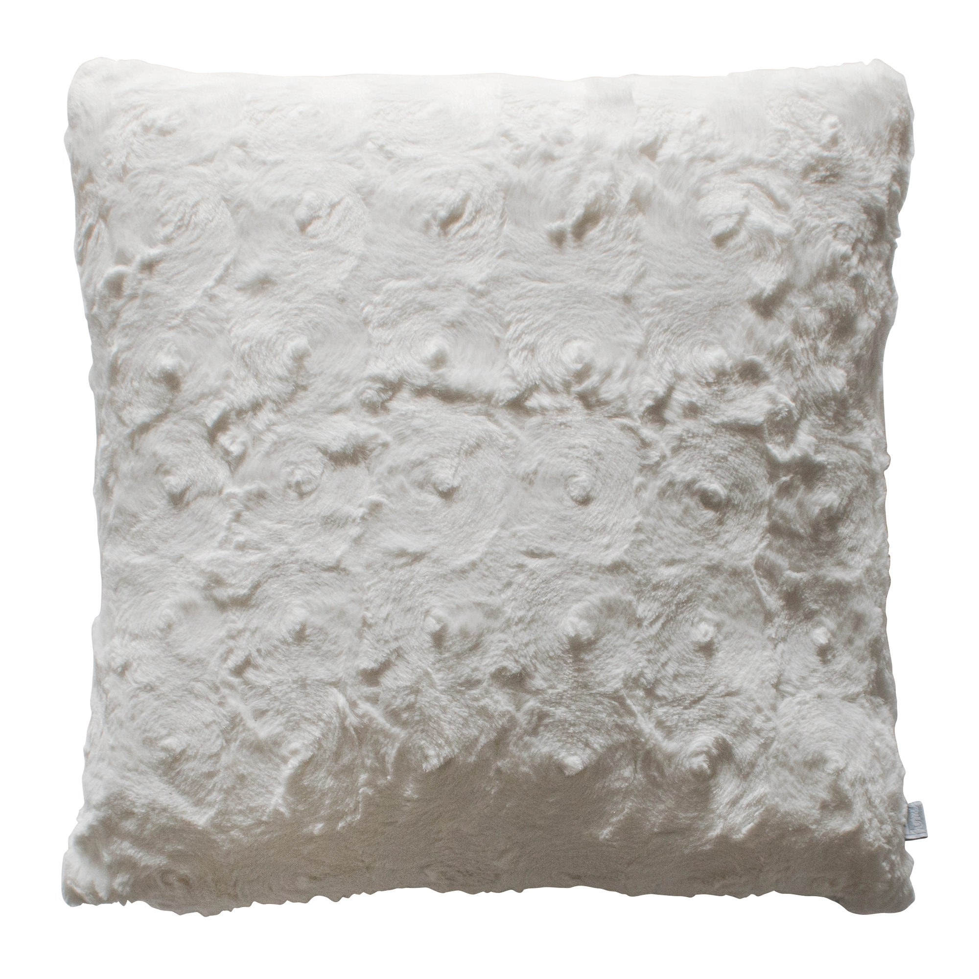 faux fur irresistibly a gray luxury of to lends pillow our at your look space an pin