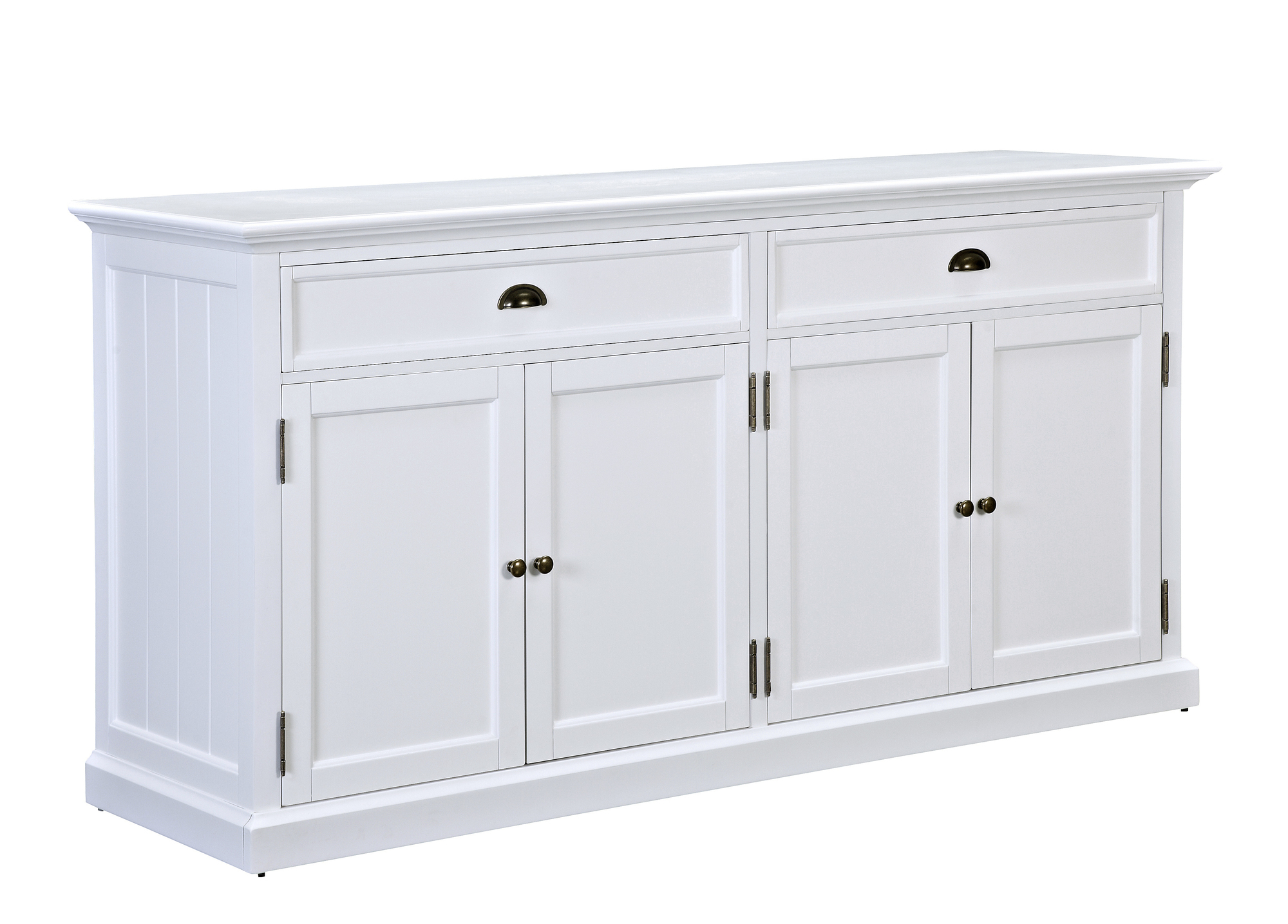 Temple Webster Large White Hamptons Sideboard Buffet Reviews