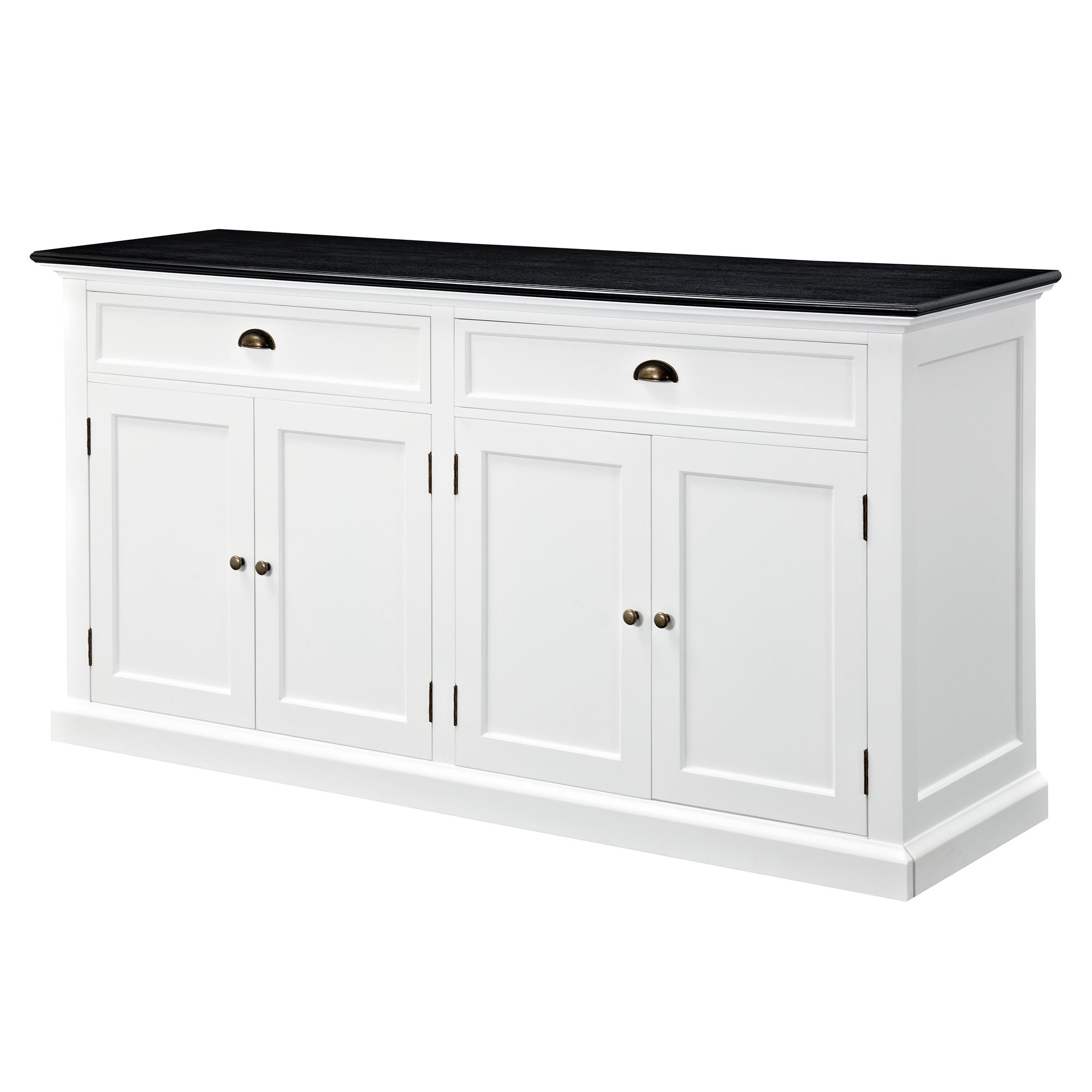 temple webster hamptons large sideboard buffet black top reviews rh templeandwebster com au