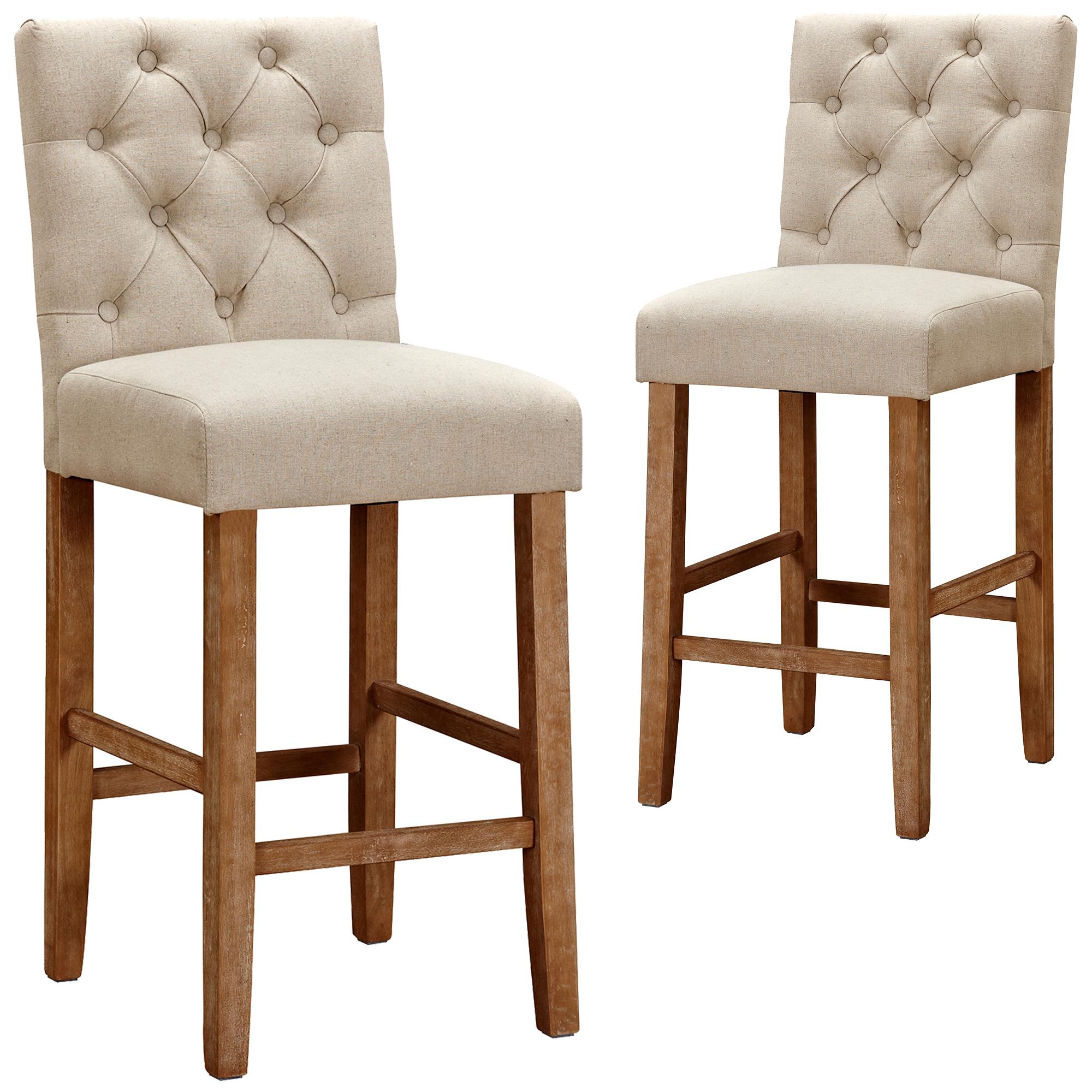 9cm Windsor Provincial Linen Barstools Set of 9