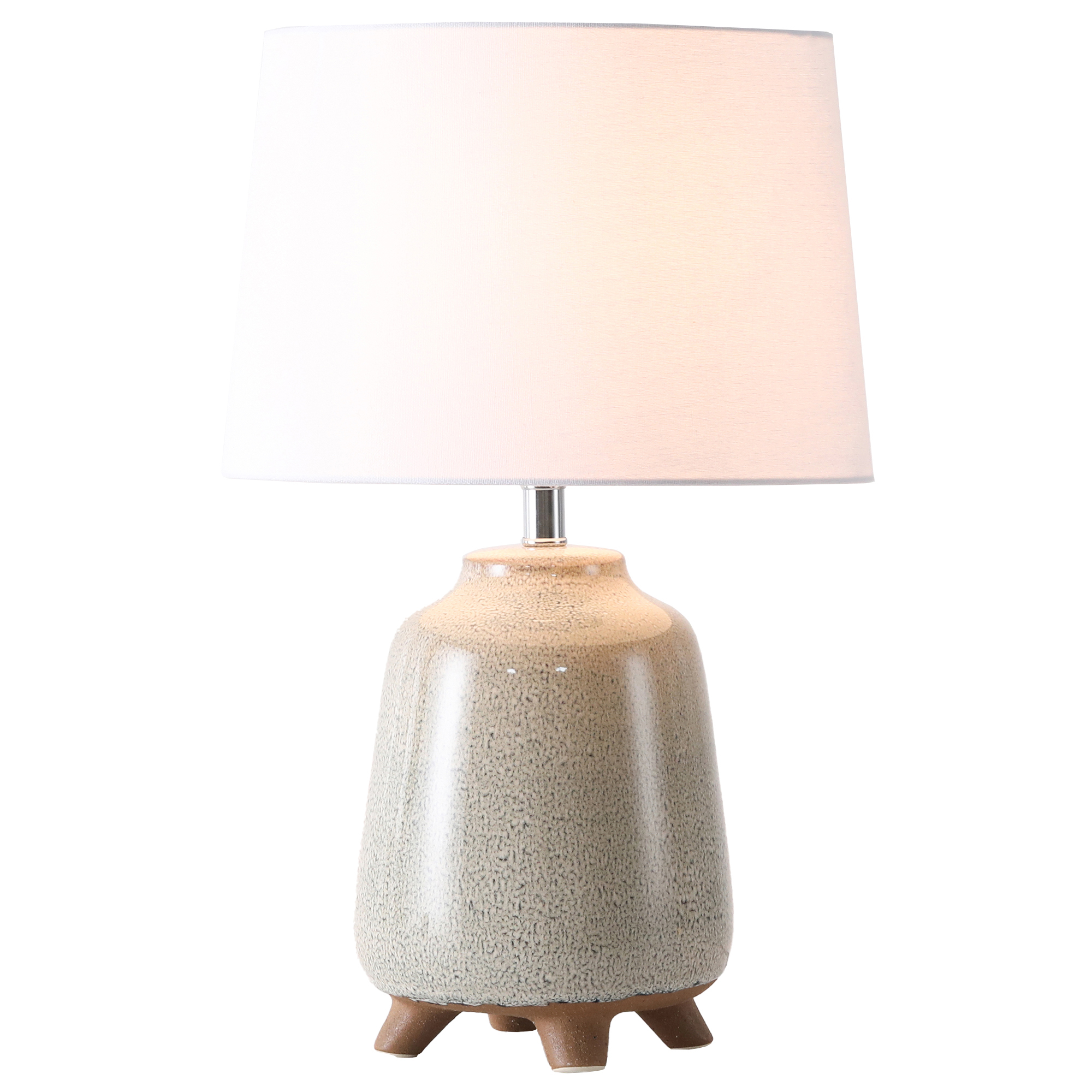 Temple Webster Cream Orion Ceramic Table Lamp Reviews
