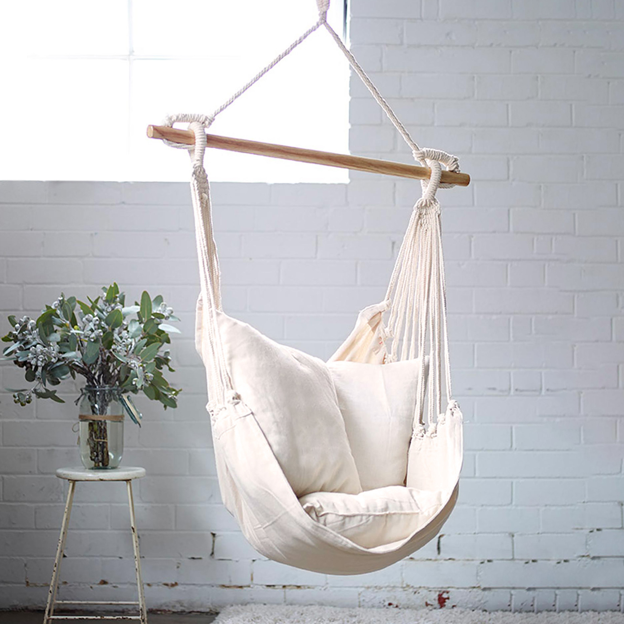 Collectivesol Natural Noosa Hammock Chair Swing Reviews Temple Webster