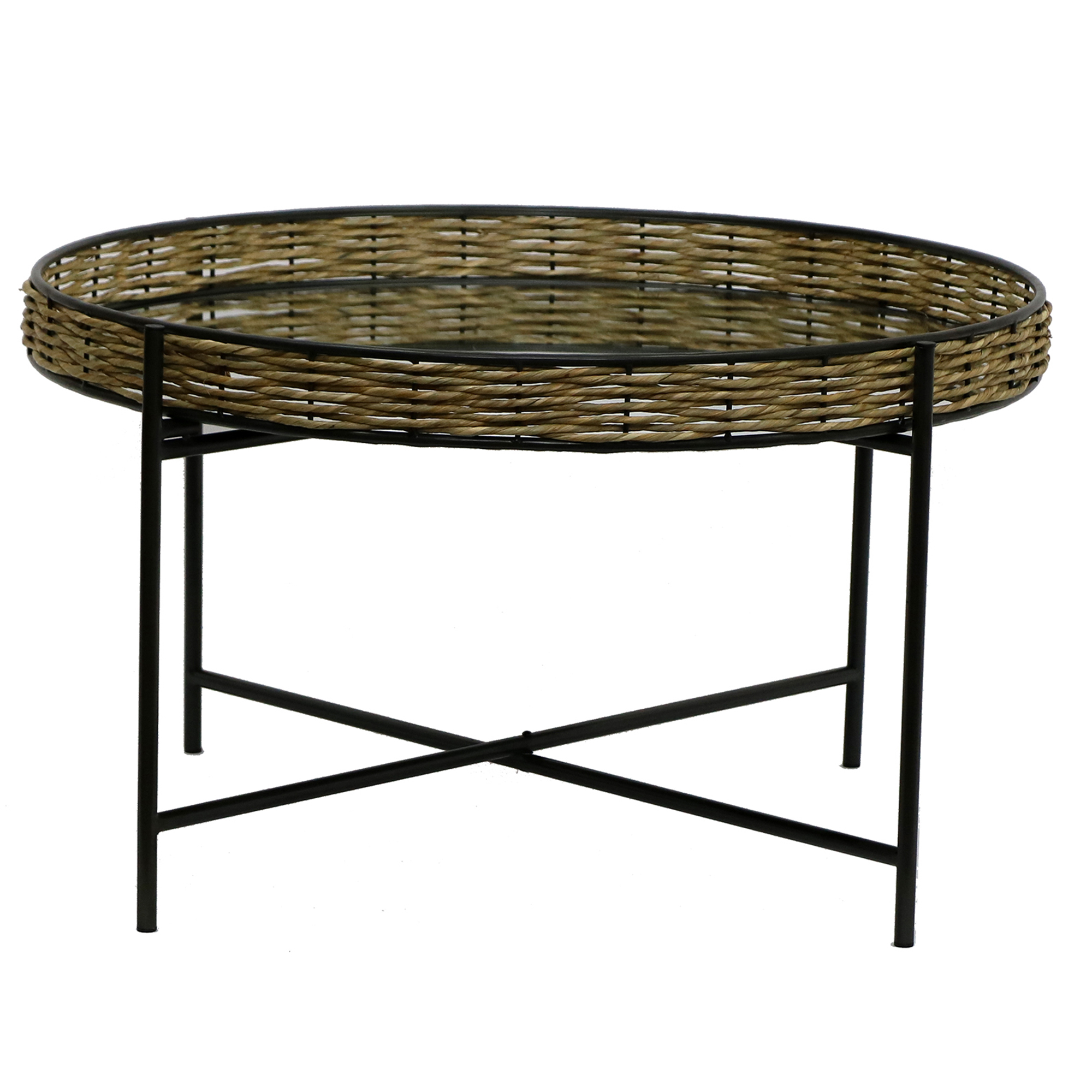 Sorrento Mirrored Tray Top Coffee Table Temple Webster