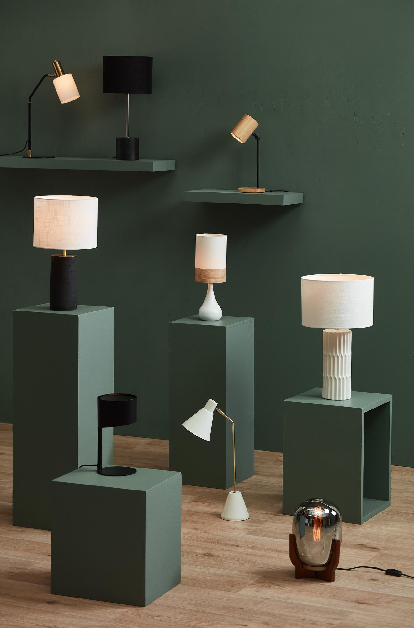 Spectra Lighting Oak Band Nalada Ceramic Table Lamp | Stay at Home Mum