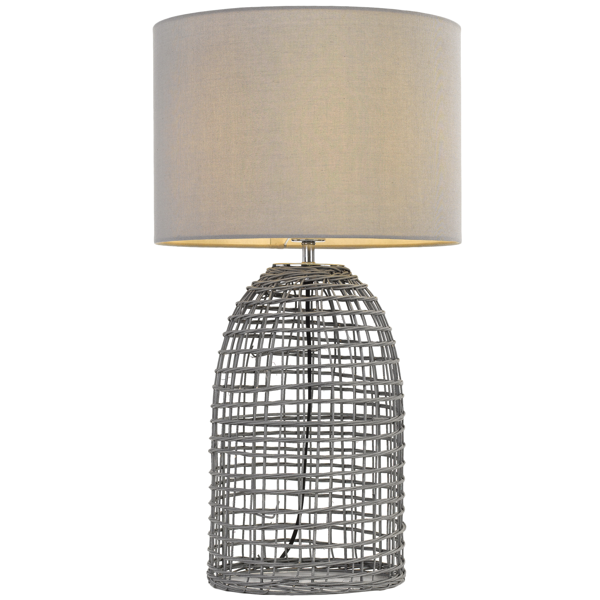 Spectra Lighting Bayz Rattan Table Lamp Reviews Temple Webster