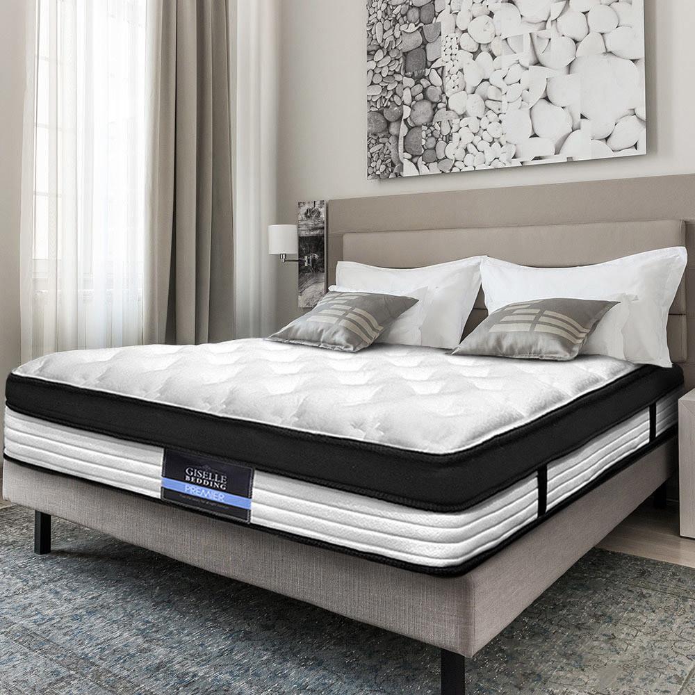 NEW-Comfort-Euro-Top-Foam-amp-Coil-Mattress-DwellHome-Bed-Mattresses thumbnail 15