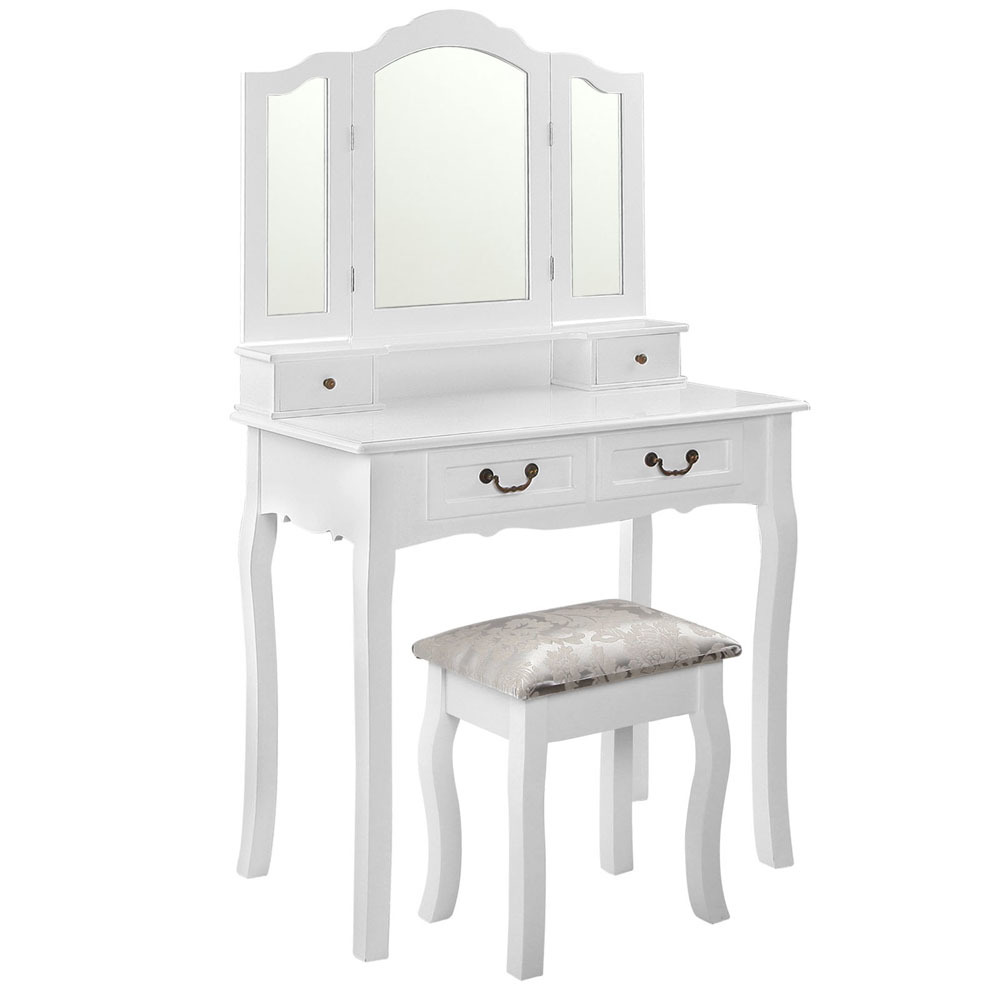 SKU #ILIF3610 Classic Berenice Dressing Table U0026 Stool Is Also Sometimes  Listed Under The Following Manufacturer Numbers: DRESS TAB 3MIR 4D