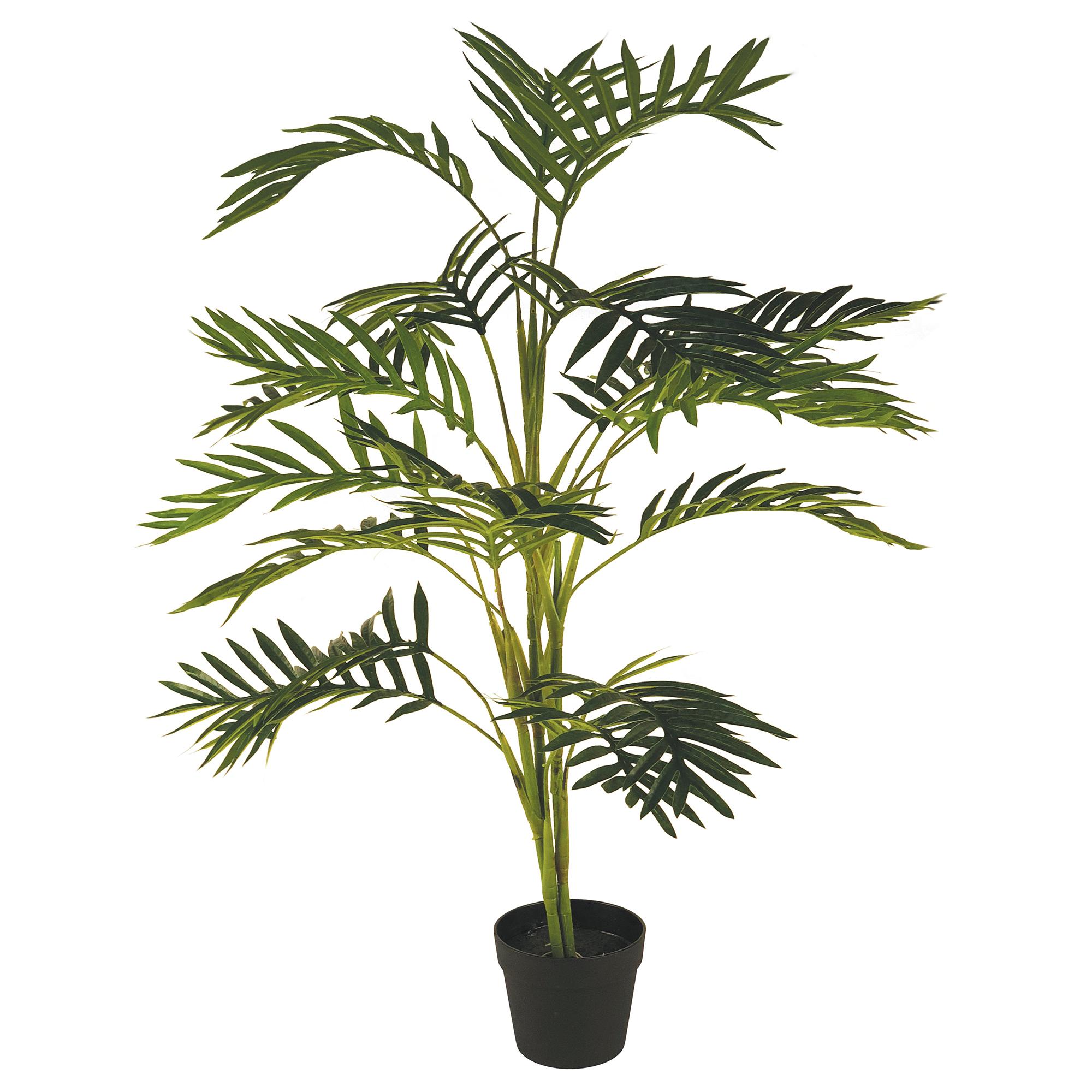100cm Faux Areca Palm Plant Temple Webster