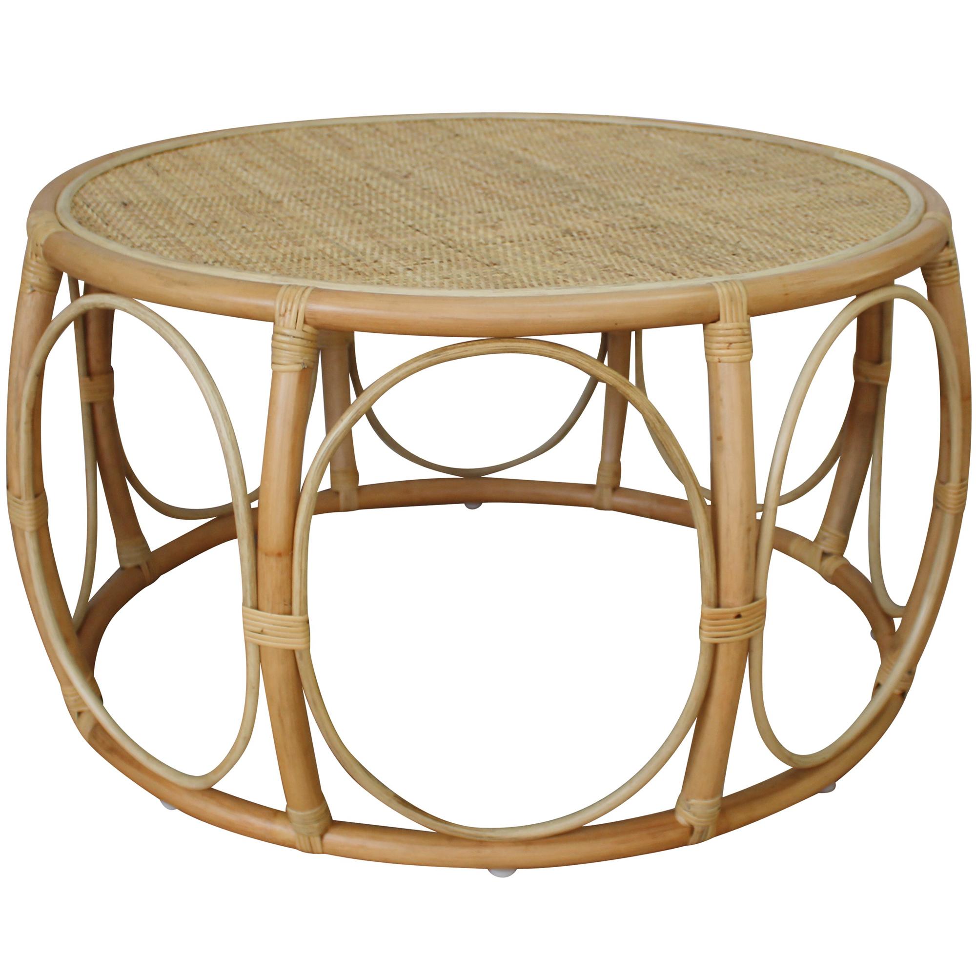 Picture of: Palm Cove Living Echo Rattan Coffee Table Reviews Temple Webster