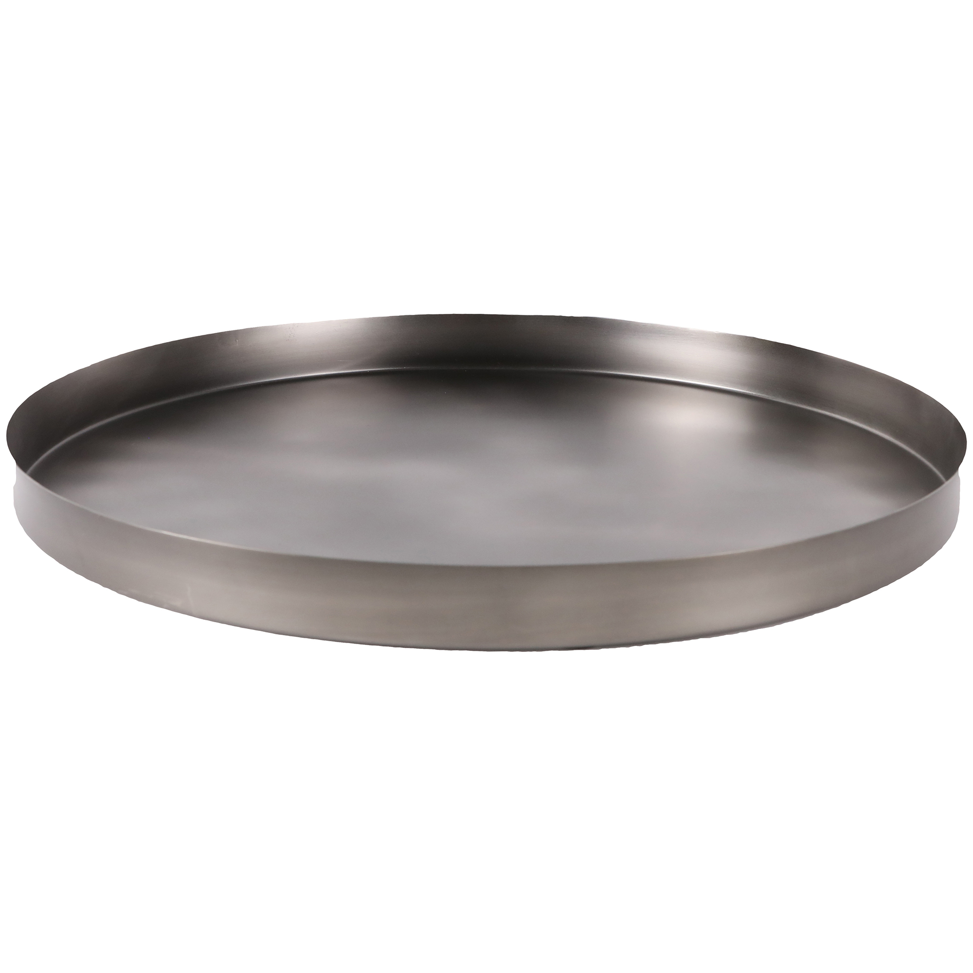NEW-Geo-Round-Metal-Serving-Tray-Behr-amp-Co-Kitchen-amp-Butler-Trays thumbnail 4