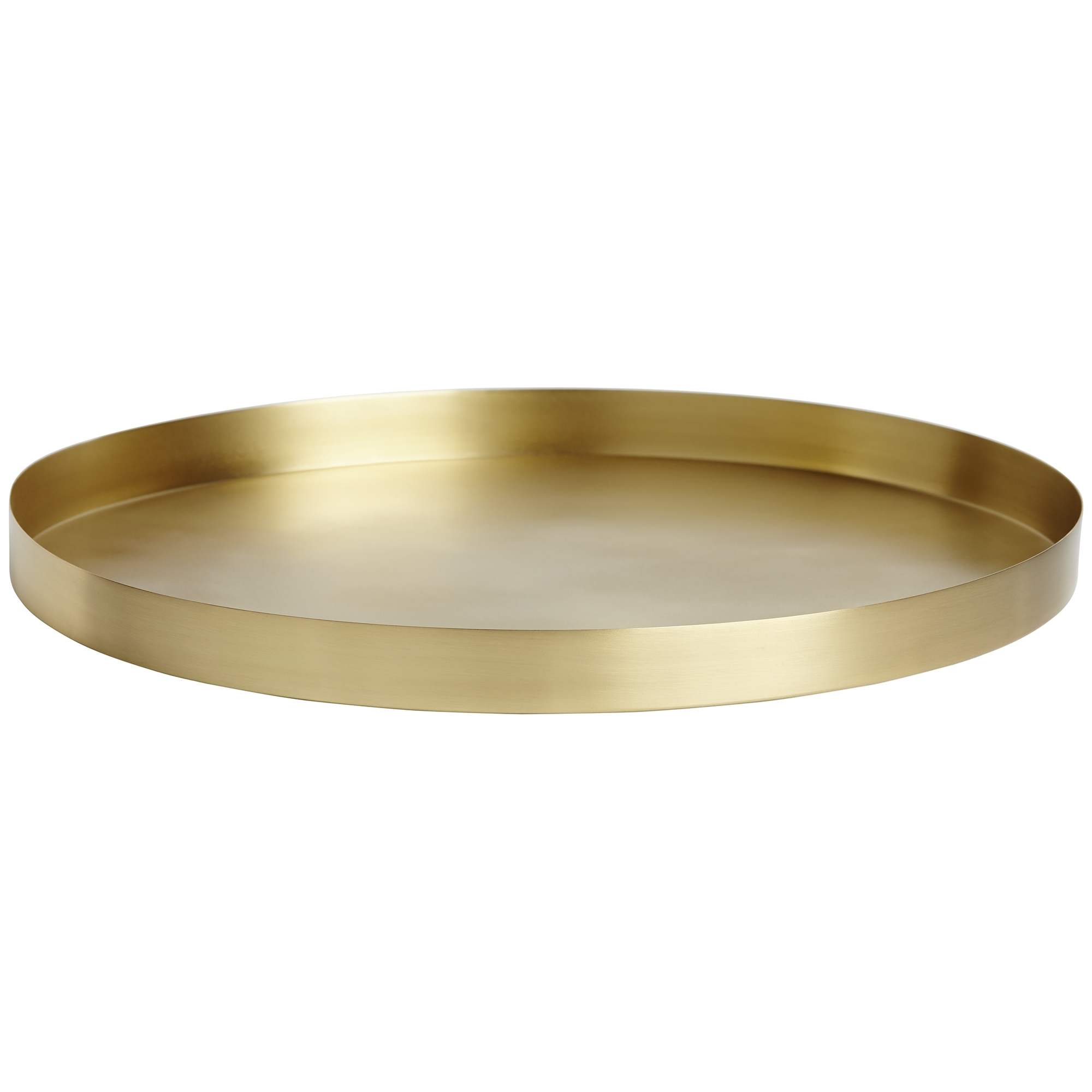 NEW-Geo-Round-Metal-Serving-Tray-Behr-amp-Co-Kitchen-amp-Butler-Trays thumbnail 6