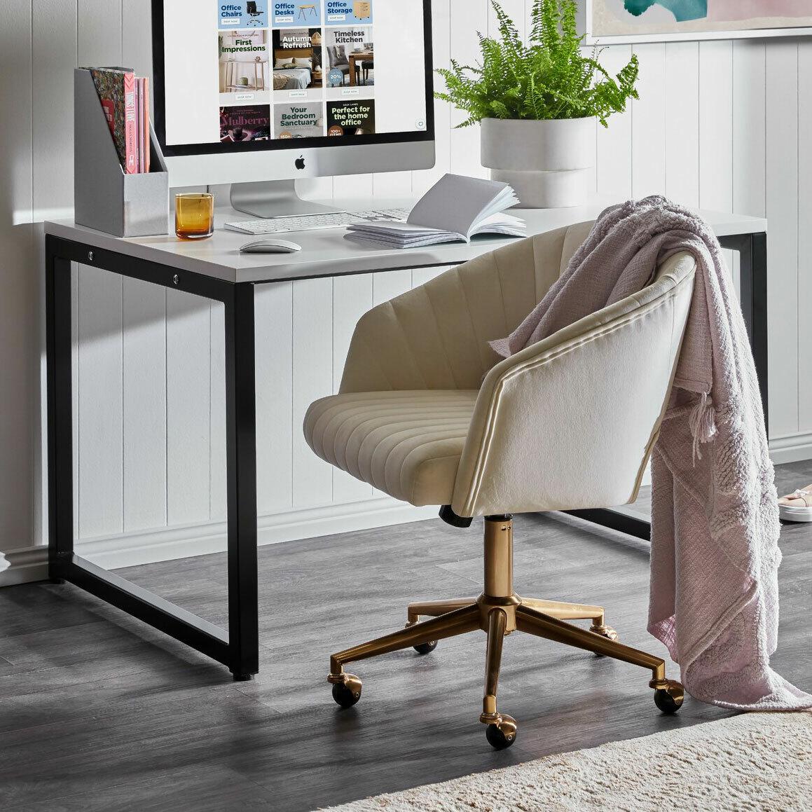 Home Office Designs Bridle Home Office Desk & Reviews | Temple & Webster