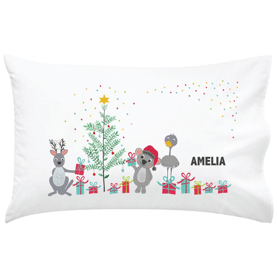 Christmas Pillow Case | Beanstalk Single Mums