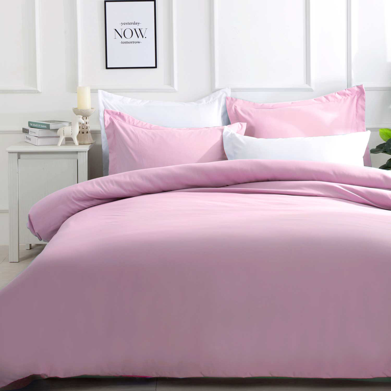 Pink Samia Quilt Cover Set Temple Webster