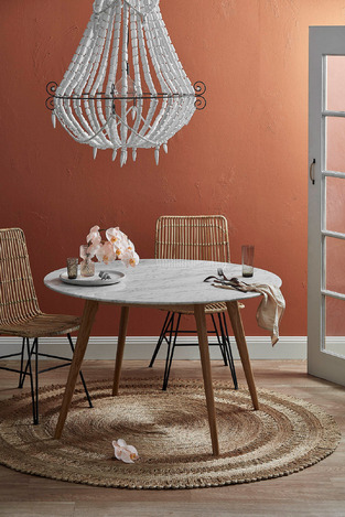 Contemporary Round Dining photo by Temple & Webster