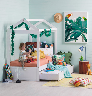 Casual kids playhouse bedroom - 137-302 photo by Temple & Webster
