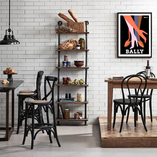 Warm industrial kitchen dining - 165-330 photo by Temple & Webster