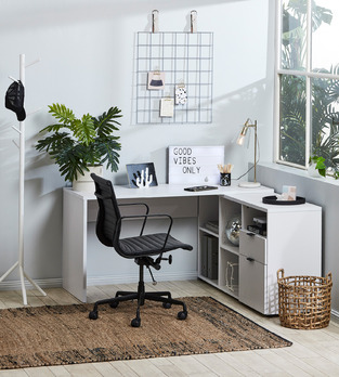 Breezy casual office photo by Temple & Webster
