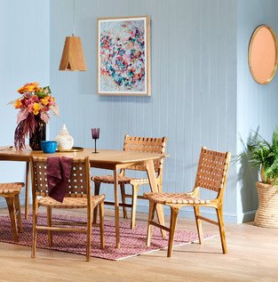 Colourful casual dining photo by Temple & Webster
