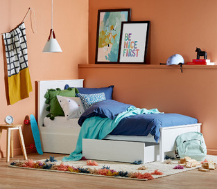 Casual colourful kids bedroom photo by Temple & Webster