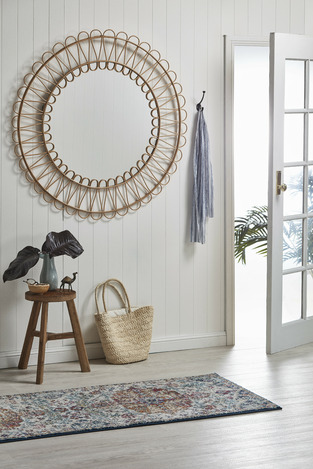 Coastal entryway photo by Temple & Webster