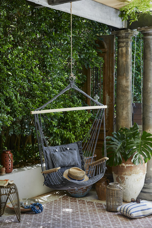 Outdoor Reading Nook photo by Temple & Webster