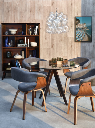 Mid Century Dining Room photo by Temple & Webster