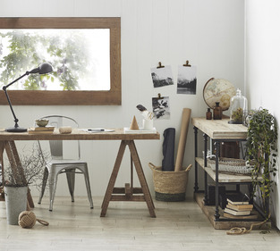 Rustic Botanical Office photo by Temple & Webster