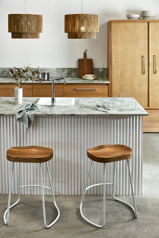Urban Rattan Kitchen photo by Temple & Webster