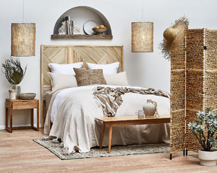 Natural & Textured Bedroom photo by Temple & Webster