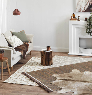 Natural Rug Lounge photo by Temple & Webster