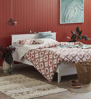 Accent Red Bedroom photo by Temple & Webster