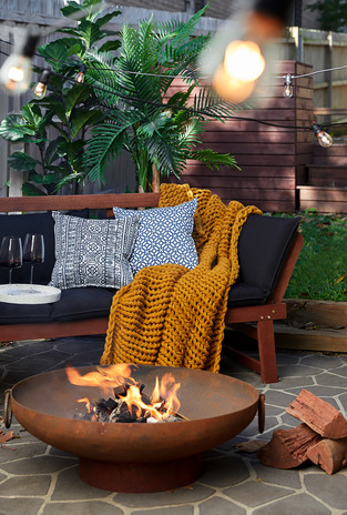 Outdoor Fire Pit photo by Temple & Webster
