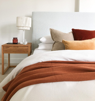 Soft & warm bedroom photo by Temple & Webster
