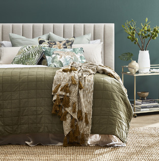 Cosy Green & Neutrals photo by Temple & Webster