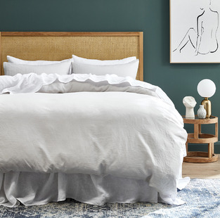 Clean & Crisp White Bedroom photo by Temple & Webster