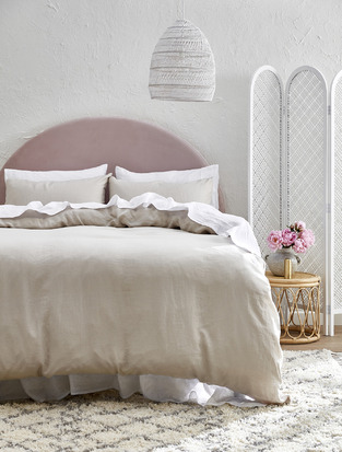 Soft & Feminine Seaside Bedroom photo by Temple & Webster
