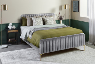 Olive Luxe Velvet Bedroom photo by Temple & Webster