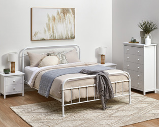 Country White Bedroom photo by Temple & Webster