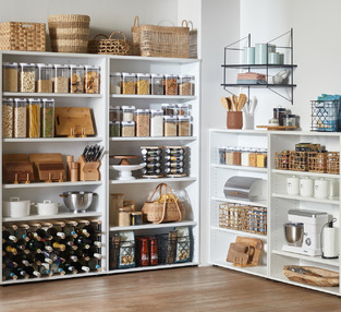 Organised Pantry photo by Temple & Webster