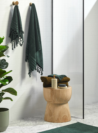 Green & Timber Bath photo by Temple & Webster