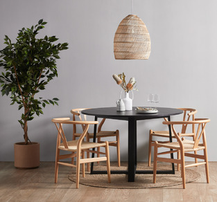 Simple Wood Dining photo by Temple & Webster