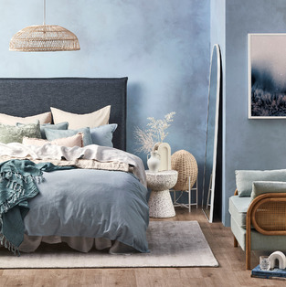 Oceanic Bedroom photo by Temple & Webster