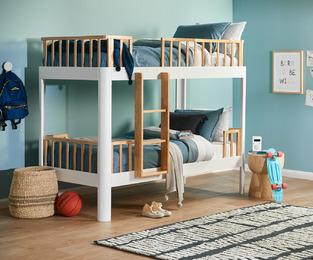 Kids Bunk Bedroom photo by Temple & Webster