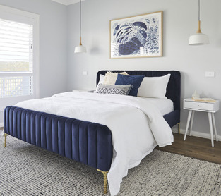 Bright & Smooth Bedroom photo by Temple & Webster